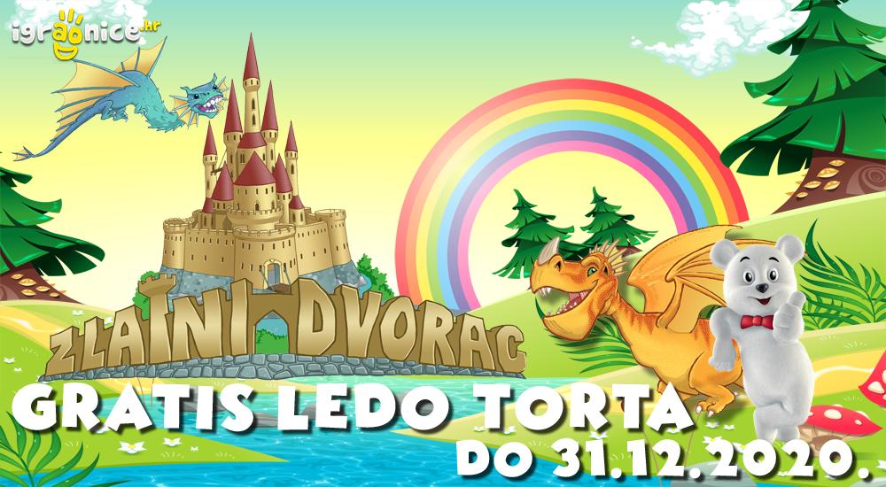 Ledo Medo je donio rođendansku tortu i u Zlatni dvorac!