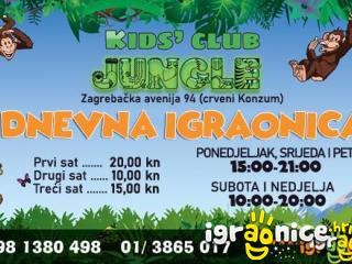 Kids Club Jungle - DNEVNA IGRAONICA