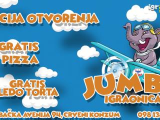 Otvorena je nova JUMBO igraonica!