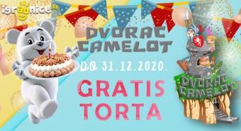 Pronađi svoju GRATIS Ledo rođendansku tortu u Dvorcu Camelotu!