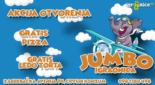 JUMBO - AKCIJA OTVORENJA DO 31.12.2020.